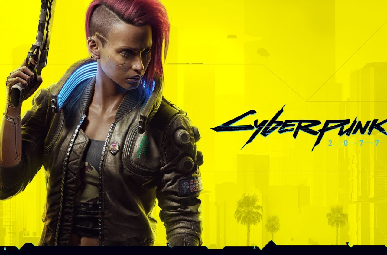 Cyberpunk 2077 gelb