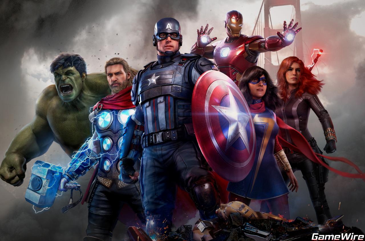 Marvels Avengers Banner