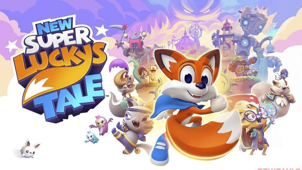 New Super Lucky's Tale Banner