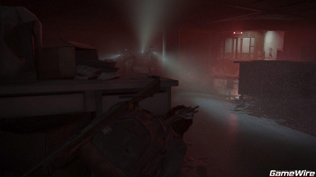 Feindkontakt Ubahn The Last of Us: Part 2