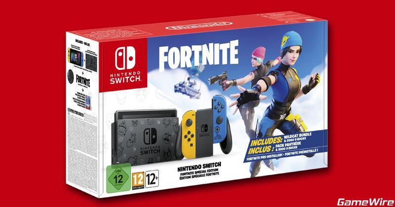 Nintendo switch Fortnite Box