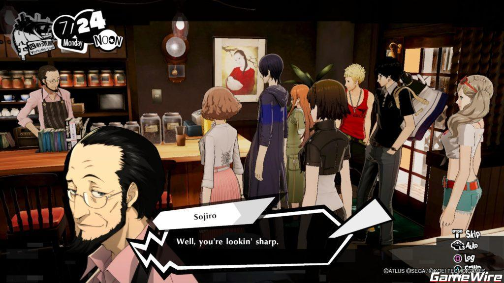 Persona 5 Strikers Sojiro